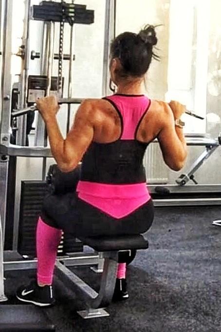 Fitness felsők / Estel Pink fitness felső