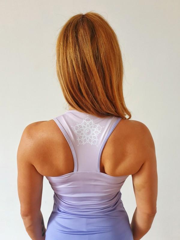 Fitness felsők / Mandala Purple fitness felső