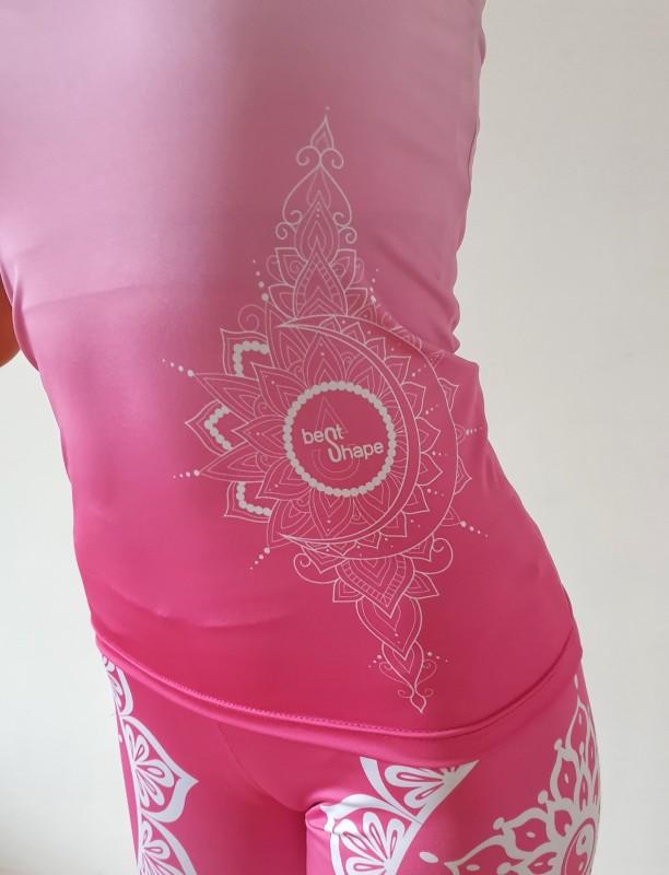Mandala Pink fitness szett