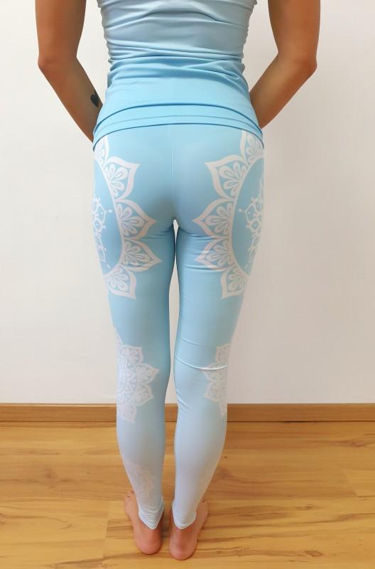 Mandala Blue fitness szett