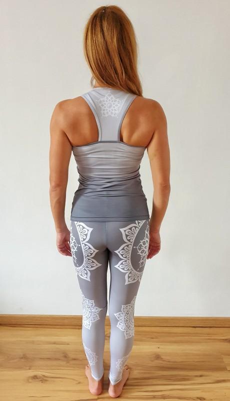 Mandala Grey fitness szett