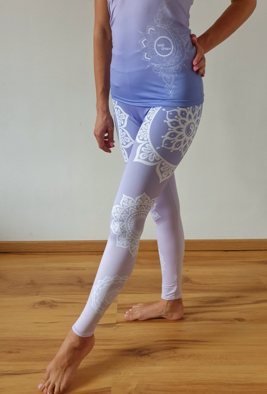 Mandala Purple fitness szett
