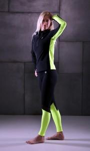 Fitness Outlet / Ernil lime betétes tréning felső
